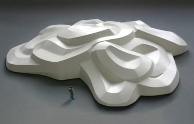 Gebogene Skulptur 1